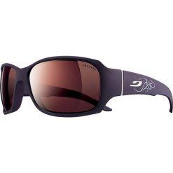 """Okulary przeciwsłoneczne męskie: Okulary przeciwsłoneczne """"Alagna"""" w kolorze czarno-fioletowym"""