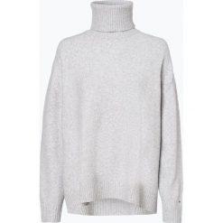 Tommy Jeans - Sweter damski, szary. Szare swetry klasyczne damskie Tommy Jeans, m, z dzianiny. Za 449,95 zł.
