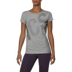 T-shirt Asics Graphic SS Tee 126295-0714. Niebieskie t-shirty damskie marki Adidas, s, z bawełny. W wyprzedaży za 79,99 zł.