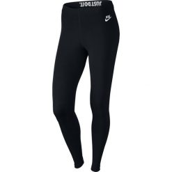 Legginsy sportowe damskie NIKE LEG-A-SEE LEGGING / 726085-010 - NIKE LEG-A-SEE LEGGING. Czarne legginsy we wzory Nike. Za 79,00 zł.