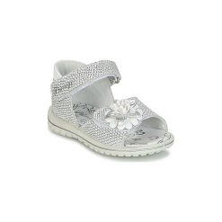 Sandały Dziecko  Primigi  ROUPINE. Czerwone sandały dziewczęce marki Born2be, z materiału, z otwartym noskiem, na zamek. Za 139,30 zł.