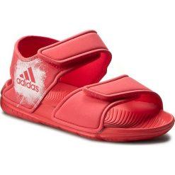 Sandały adidas - AltaSwim C BA7849 Corpink/Ftwwht/Ftwwht. Czerwone sandały chłopięce marki Born2be, z materiału, z otwartym noskiem, na zamek. W wyprzedaży za 119,00 zł.