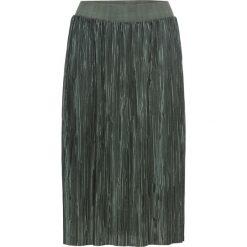 Spódnice wieczorowe: Spódnica plisowana bonprix zielony