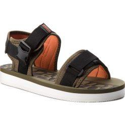 Sandały NAPAPIJRI - Lido 16807611 Army Green N79. Czarne sandały męskie skórzane marki Napapijri. W wyprzedaży za 189,00 zł.