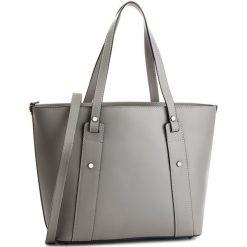 Torebka CREOLE - K10545  Szary. Szare torebki klasyczne damskie Creole, ze skóry. W wyprzedaży za 219,00 zł.