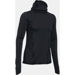 Bluzy damskie: Under Armour Bluza damska ColdGear® Reactor Balaclava Hoodie czarna r. S (1298158-100)