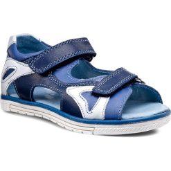 Sandały męskie skórzane: Sandały KORNECKI – 03748 M/Kobalt/S