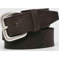 Pepe Jeans - Pasek skórzany. Czarne paski męskie Pepe Jeans, w paski, z jeansu. W wyprzedaży za 139,90 zł.