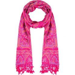 Różowa apaszka z orientalnym wzorem QUIOSQUE. Czerwone apaszki damskie QUIOSQUE, z bawełny. Za 69,99 zł.