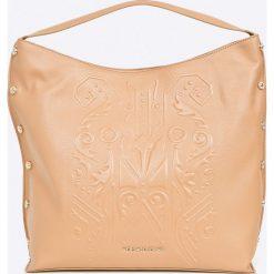 Versace Jeans - Torebka. Pomarańczowe torebki klasyczne damskie marki Versace Jeans, z jeansu, duże. W wyprzedaży za 849,90 zł.