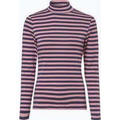 Franco Callegari - Damska koszulka z długim rękawem, niebieski. Zielone t-shirty damskie marki Franco Callegari, z napisami. Za 99,95 zł.