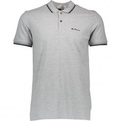 Koszulka polo w kolorze szarym. Szare koszulki polo marki Ben Sherman, m, z haftami, z bawełny. W wyprzedaży za 108,95 zł.