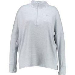 Nike Performance THERMA SPHERE ELEMENT Koszulka sportowa wolf grey/heather. Szare topy sportowe damskie marki Nike Performance, z elastanu. W wyprzedaży za 239,20 zł.