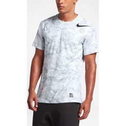 Nike Koszulka męska Pro Hypercool Top biała r. XL (828180 100). Białe t-shirty męskie Nike, m. Za 135,20 zł.