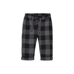 Name it Spodnie Boys Para dark grey melange. Szare spodnie chłopięce Name it, z bawełny. Za 89,00 zł.