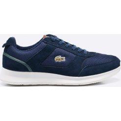 Lacoste - Buty Joggeur. Szare buty skate męskie Lacoste, z gumy, na sznurówki. W wyprzedaży za 359,90 zł.