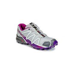 Buty do biegania Salomon  SPEEDCROSS 4 W. Szare buty do biegania damskie Salomon, salomon speedcross. Za 523,34 zł.
