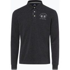 La Martina - Męska koszulka polo, szary. Szare koszulki polo La Martina, m, z dżerseju. Za 599,95 zł.