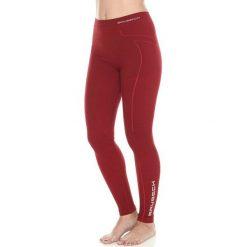 Bryczesy damskie: Brubeck Spodnie damskie Wool burgundowe r. S (LE11130)