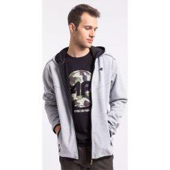 Bluzy męskie: Bluza męska BLM005z – jasny szary melanż