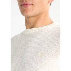 Swetry męskie: GANT CREW Sweter cream