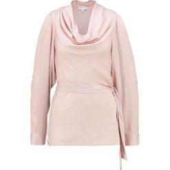 Warehouse COWL NECK TOP Bluzka nude. Szare bluzki damskie marki Warehouse, z materiału. W wyprzedaży za 159,20 zł.