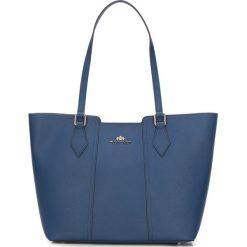 Torebka damska 87-4-705-N. Niebieskie shopper bag damskie Wittchen, matowe. Za 299,00 zł.