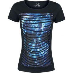 T-shirty damskie: Full Volume by EMP Galaxy Slash Shirt Koszulka damska czarny