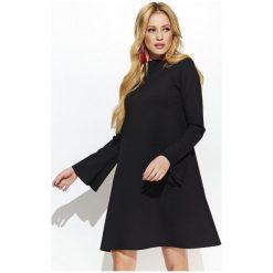 Makadamia Sukienka Damska 36 Czarna. Czarne sukienki z falbanami marki Fille Du Couturier. W wyprzedaży za 165,00 zł.