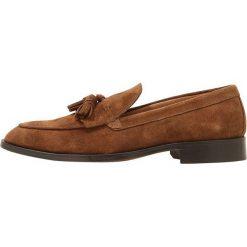 Buty wizytowe męskie: Peralston Eleganckie buty brown