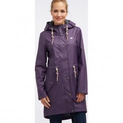 Płaszcz przeciwdeszczowy w kolorze fioletowym. Fioletowe płaszcze damskie marki Schmuddelwedda, xs. W wyprzedaży za 347,95 zł.
