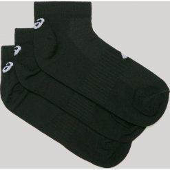 Asics Tiger - Skarpetki (3-pack). Czarne skarpetki damskie Asics, z bawełny. Za 39,90 zł.