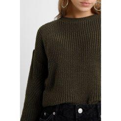 Swetry klasyczne damskie: Dorothy Perkins Petite LEAD IN FASHION SLEEVE Sweter khaki