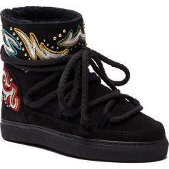 Buty zimowe damskie: Buty INUIKII - Sneaker Dipama 70202-31 Rock Black