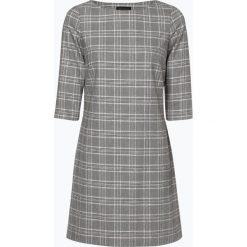 Marie Lund - Sukienka damska – Coordinates, czarny. Czarne sukienki hiszpanki Marie Lund, w kratkę. Za 449,95 zł.