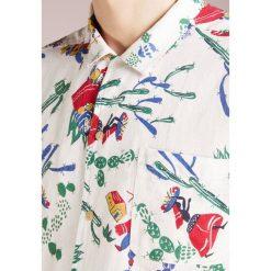 Koszule męskie na spinki: YMC You Must Create MALICK Koszula ecru