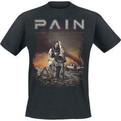 T-shirty męskie: Pain Coming home T-Shirt czarny