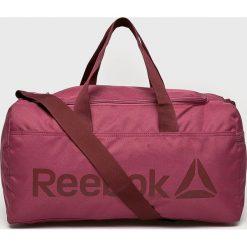 Reebok - Torba. Czerwone torebki klasyczne damskie Reebok. W wyprzedaży za 119,90 zł.