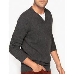 Kardigany męskie: Kaszmirowy sweter z dekoltem V