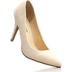 Buty ślubne damskie: Czółenka bonprix cielisty