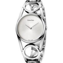 ZEGAREK CALVIN KLEIN ROUND K5U2M546. Szare zegarki damskie Calvin Klein, szklane. Za 1409,00 zł.