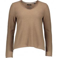 Sweter w kolorze jasnobrązowym. Brązowe swetry oversize damskie Marc O'Polo, s, z bawełny. W wyprzedaży za 282,95 zł.