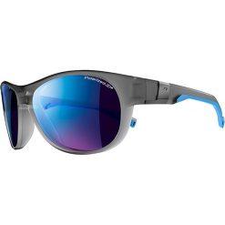 """Okulary przeciwsłoneczne męskie: Okulary przeciwsłoneczne """"Shore"""" w kolorze szaro-niebieskim"""