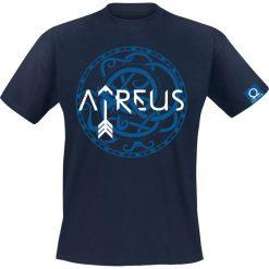 T-shirty męskie z nadrukiem: God Of War Atreus – Symbol T-Shirt ciemnoniebieski