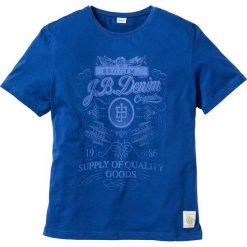 T-shirty męskie z nadrukiem: T-shirt Regular Fit bonprix niebieski