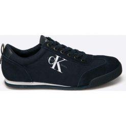 Calvin Klein Jeans - Buty Wyatt. Czarne buty skate męskie Calvin Klein Jeans, z jeansu. Za 449,90 zł.