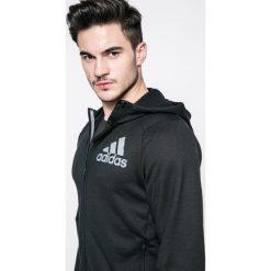 Adidas Performance - Bluza. Czarne bejsbolówki męskie adidas Performance, m, z nadrukiem, z dzianiny, z kapturem. W wyprzedaży za 169,90 zł.