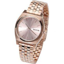 Zegarki damskie: Nixon Medium Time Teller - All Rose Gold Zegarek na rękę złoty