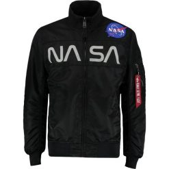 Kurtki męskie bomber: Alpha Industries NASA JACKET Kurtka Bomber black