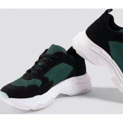 NA-KD Shoes Buty sportowe NA-KD Chunky - Black. Czarne buty sportowe damskie NA-KD Shoes, z gumy. Za 242,95 zł.